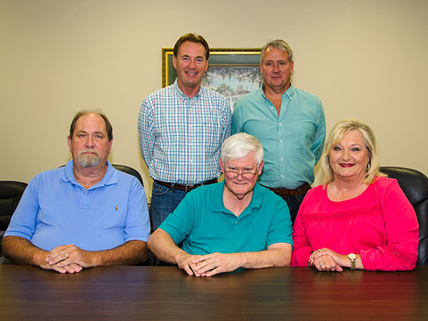 Water Department Board Members
